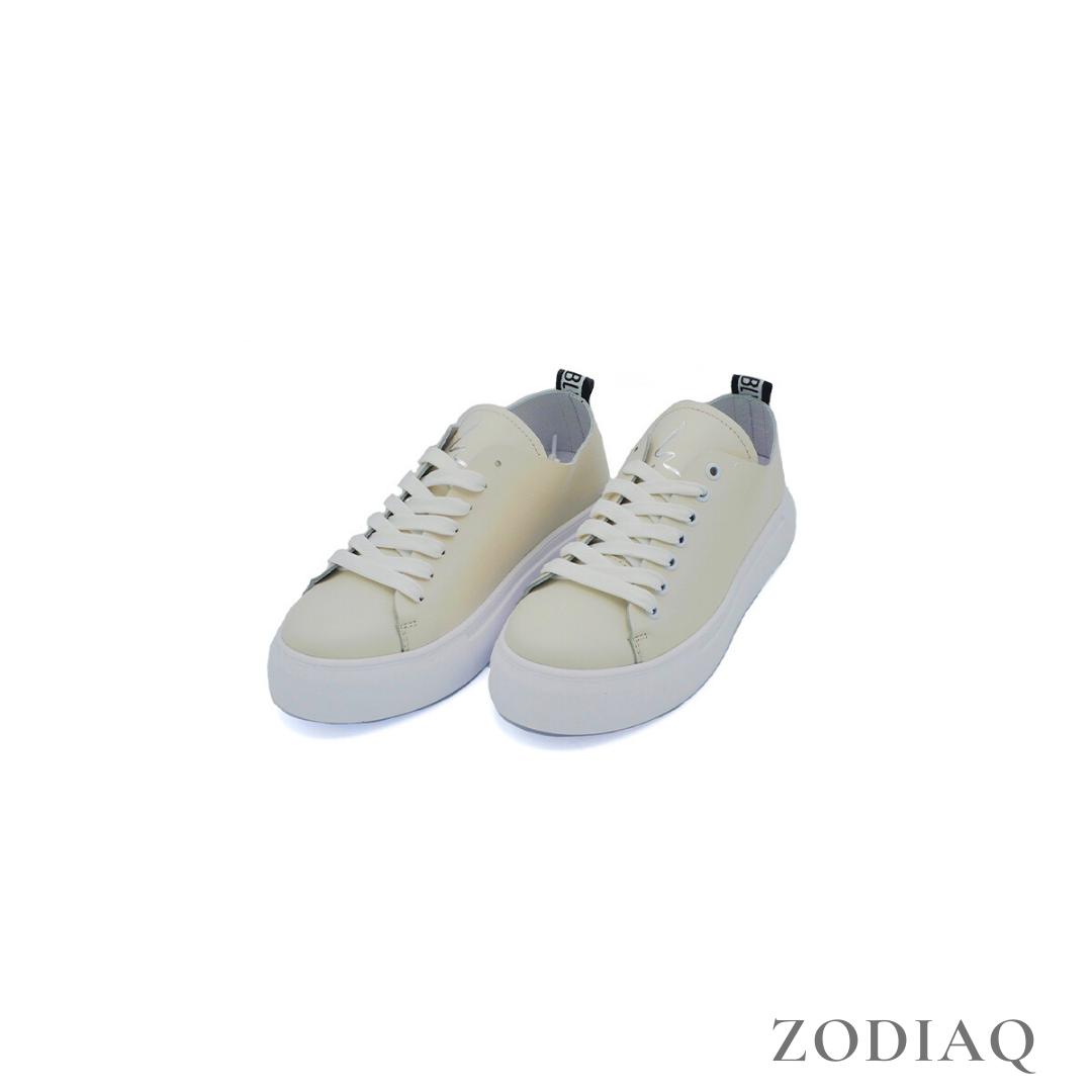 Кеды женские кожаные светлые весна - t2164-79 ZodiaQ
