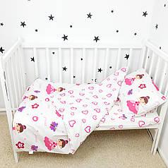 """Постельное белье в детскую кроватку """"Принцессы"""" - Oh my kids"""