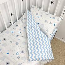"""Постельное белье в детскую кроватку """"Мишки звёздочки"""" - Oh my kids, фото 3"""