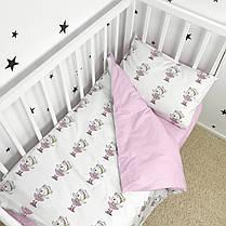 Постельное белье в детскую кроватку «Мишки-балеринки» - Oh my kids, фото 3