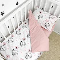 Постельное белье в детскую кроватку «Слоники с шариками» - Oh my kids, фото 3