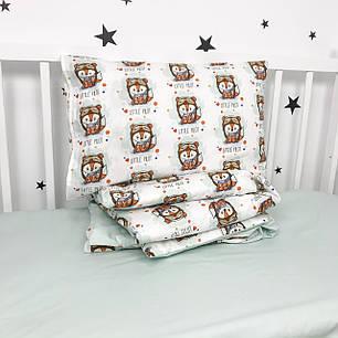"""Постельное белье в детскую кроватку """"Лисички-пилоты"""" - Oh my kids, фото 2"""