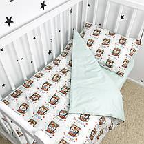 """Постельное белье в детскую кроватку """"Лисички-пилоты"""" - Oh my kids, фото 3"""