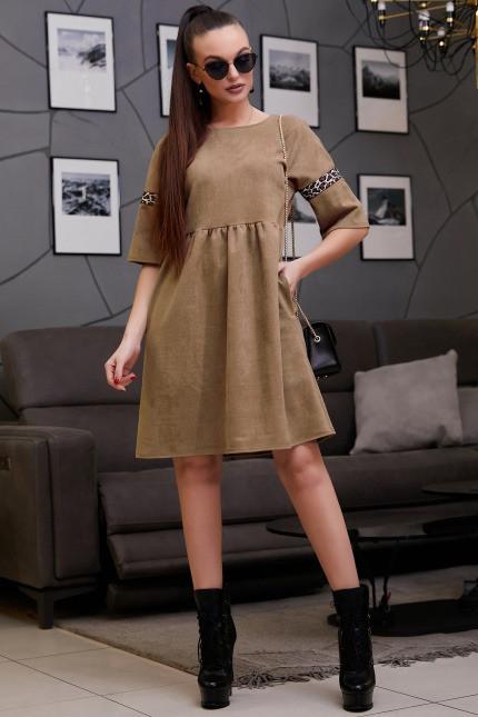 Платье 1300.3988 кофе (M, L, XL, XXL)