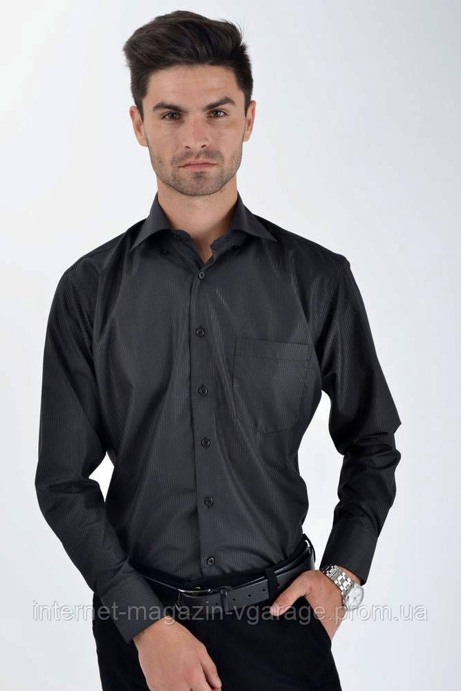 Рубашка 9009-100 цвет Черный