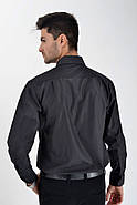 Рубашка 9009-100 цвет Черный, фото 3