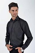 Рубашка 9009-100 цвет Черный, фото 4