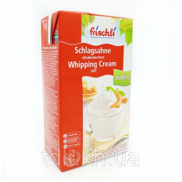 Сливки кондитерские молочные 30% без сахара ТМ Frischli