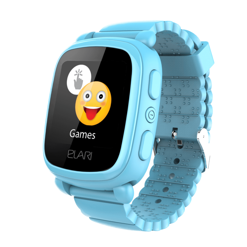 Дитячі смарт-годинник ELARI KidPhone 2 Blue (KP-2Bl)