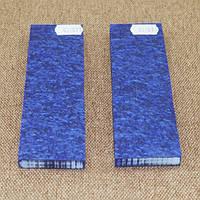 Накладки для рукояті ножа акрил синя відень 125x40x9 мм