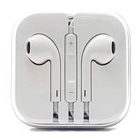 Дротові навушники-гарнітура Білі, фото 1