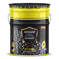Праймер битумно-каучуковый (грунтовка битумная) BITUGUM 3л
