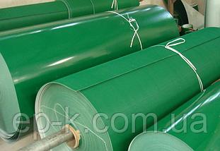 Лента конвейерная с покрытием ПВХ (PVC) 200 х 1,4 мм, цвет зеленый, конечная, бесконечная, фото 3