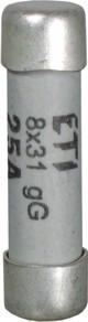 Предохранитель ETI CH 10x38 gL/gG 2A 500V 100kA 2620001 (универсальный, керамика)