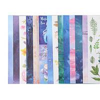 """Набор бумаги для скрапбукинга """"Сказочный лес"""", 18 листов, 30х30 см"""