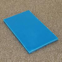 Накладки Микарта  № 92430 Цвет: бирюзовая  6,2х80х130 мм