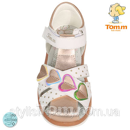 Детская летняя обувь 2020 оптом. Детские босоножки бренда Tom.m для девочек (рр. с 25 по 30), фото 2