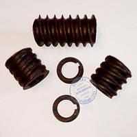 Шнеки для кормового зернового Экструдера КЭШ-2, КЭШ-3 (комплект 3 шнека, 2 кольца, Ø 22мм), фото 1