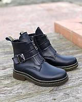 Модные ботинки женские кожаные на низком ходу осень весна повседневные удобные 36 размер M.KraFVT 0025 2021