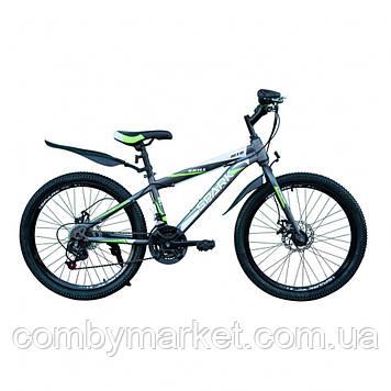 Велосипед Spark Skill TD24-13-18-003 сірий/зелений