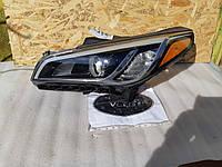 Фара левая 92101C21000 Hyundai Sonata 15-18 США БУ, фото 1