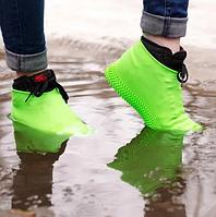 Силиконовые чехлы для обуви L  / Бахилы для обуви / / Чехлы на обувь от грязи и дождя