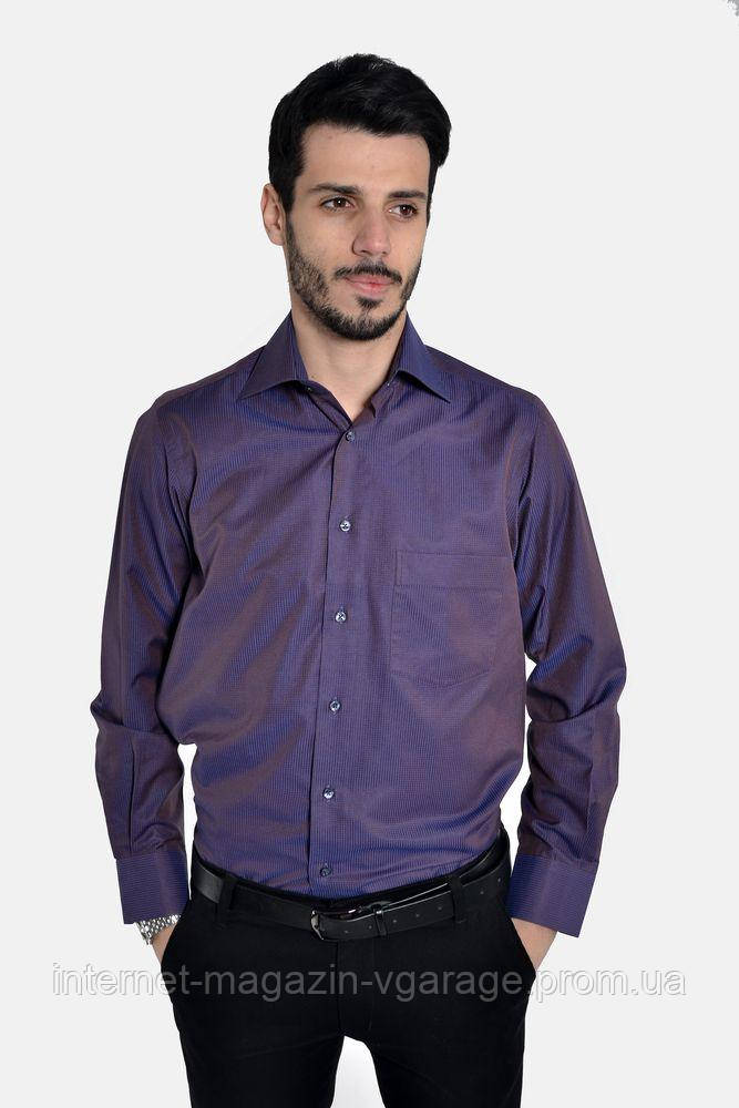 Рубашка 50PD81208 цвет Темно-сиреневый