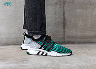 "Кроссовки Adidas Equipment Support Mid ADV ""Core Black/Sub Green"""