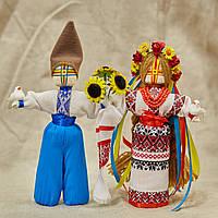Кукла-Мотанка Ручная Работа В Украинском Наряде Неразлучники