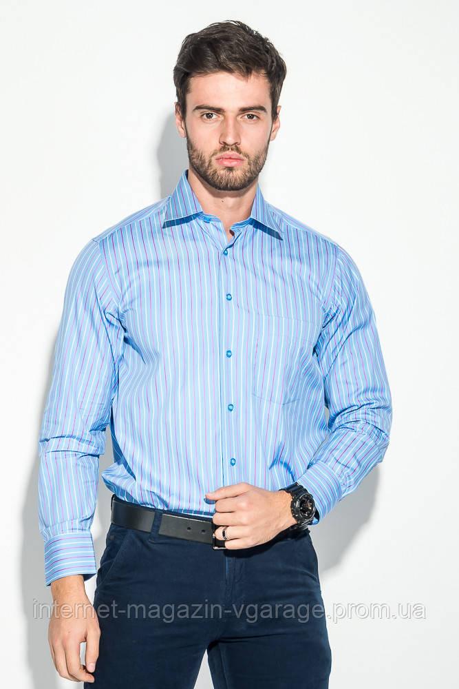 Рубашка 50PD0118 цвет Голубой