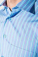 Рубашка 50PD0118 цвет Голубой, фото 3
