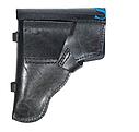 Поясная кобура из кожи для пистолета Макарова и схожих моделей по конструкции, фото 2