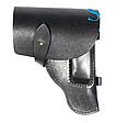 Поясная кобура из кожи для пистолета Макарова и схожих моделей по конструкции, фото 4