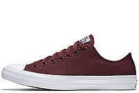 "Кеды Converse Chuck Taylor All Star II Low ""Bordo"" (Бордовые)"