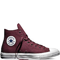 "Кеды Converse Chuck Taylor All Star II High ""Bordo"" (Бордовые)"