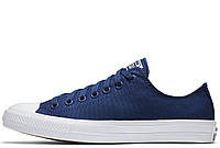 "Кеды Converse Chuck Taylor All Star II Low ""Blue"" (Голубые)"