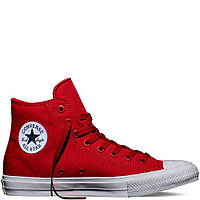 "Кеды Converse Chuck Taylor All Star II High ""Red"" (Красные)"