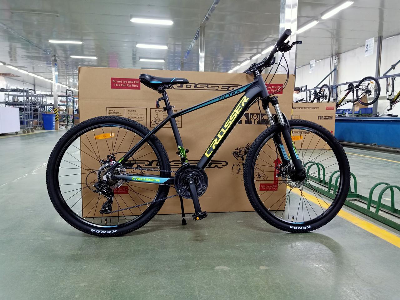 Велосипед CROSSER 29 Ultra 17 2020 года Черный цвет
