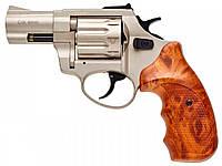"""Револьвер Флобера Stalker 2.5"""" кал. 4 мм (сатин, пластик коричневий), фото 1"""