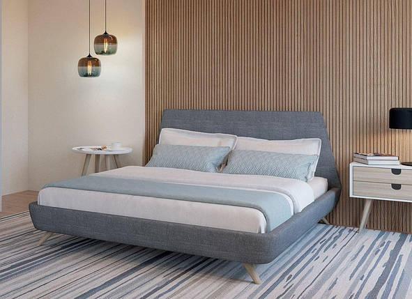 Кровать двуспальная Грей MW1600 (Embawood), фото 2