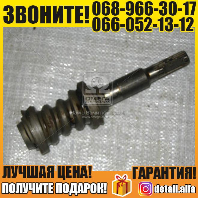 Вал рулевого управления УАЗ 469(31512) с червяком (пр-во УАЗ) (арт. 469-3401035-10)
