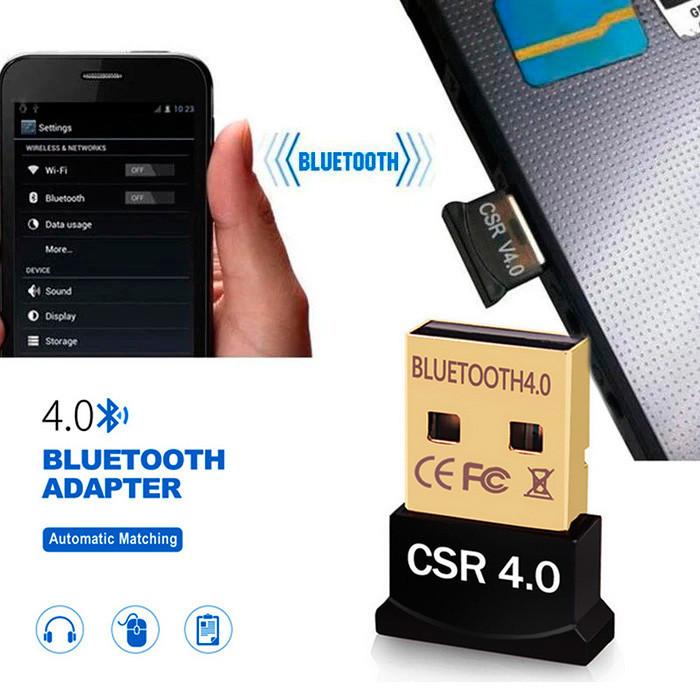 Беспроводной портативный адаптер mini Bluetooth V4.0  CSR 8510