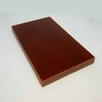 Накладки Микарта  № 92552 брезент х\б джут рыжий 10х80х130 мм