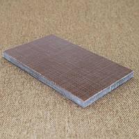 Накладки Микарта  № 92591 выраж текст темн песок  8,2х80х130 мм