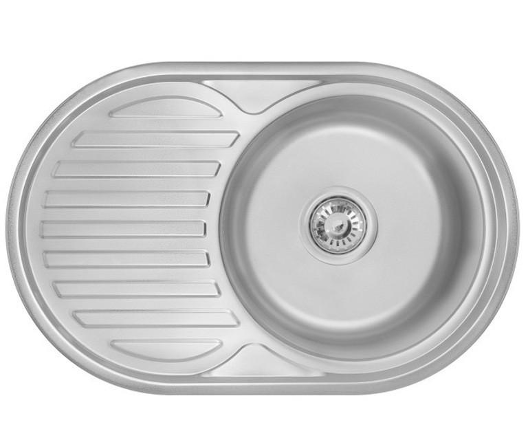 Кухонная мойка 0,6 мм Imperial 7750(06) Satin нержавеющая сталь