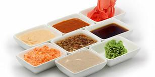Соусы, масла и уксус