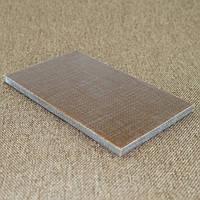 Накладки Микарта  № 92630 выраж тект песок  6,2х80х130 мм