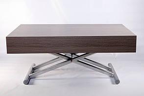 Стол-трансформер Палермо -1 B2391-1 Exm,  столешница серая/цвет ножек серебрянный, фото 2