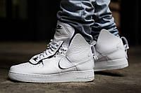"Кроссовки Nike Air Force 1 High x PSNY ""White"" (Белые)"