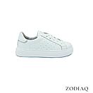 Кеды женские кожаные белые весна - t2165-0 ZodiaQ, фото 4